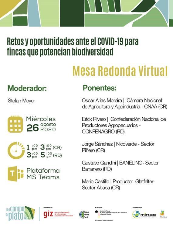 Retos y oportunidades ante el COVID-19 para fincas que potencian bidiversidad_26.08.2020