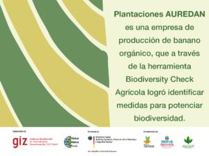 Biodiversity Check Agricola: AUREDAN