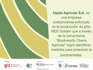 Biodiversity Check Agricola: Upala Agrícola